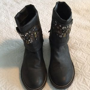 8M Penny loves Kenny boots in dark gray